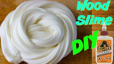 Diy Wood Glue Slime With Contact