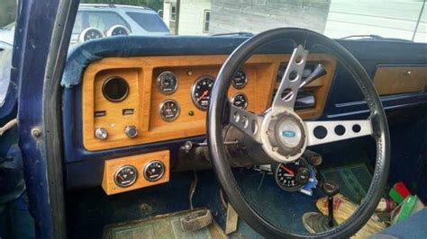 Diy Wood Grain Dash Ford