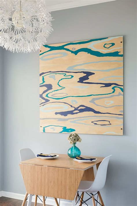 Diy Wood Grain Paintings