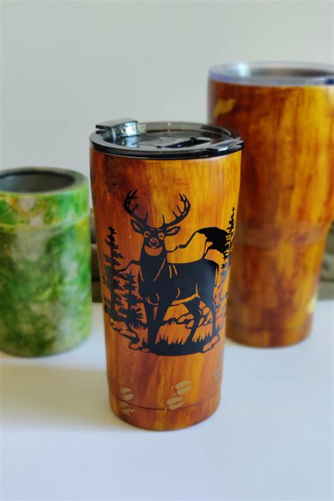 Diy Wood Grain Tumbler