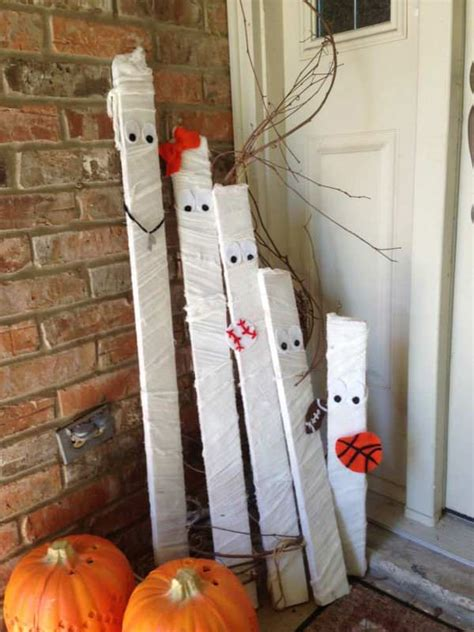 Diy Wood Graining Ideas For Halloween