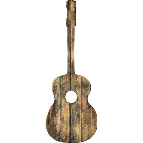Diy Wood Guitar Sculpture Art For Sale
