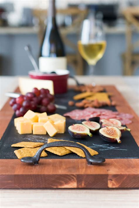 Diy Wood Hand Held Cheese Platter