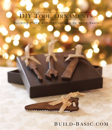 Diy Wood Hand Tool Ornaments