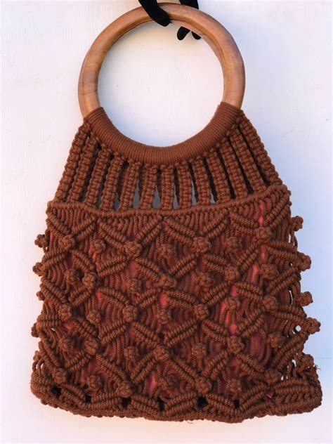 Diy Wood Handle Purse 1970