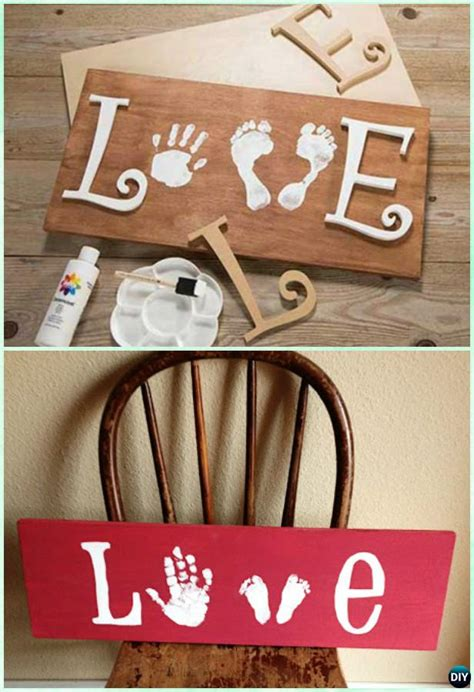 Diy Wood Handprint