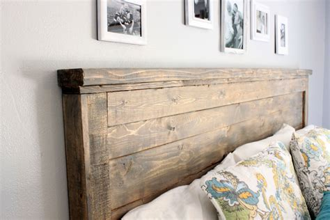 Diy Wood Headboards For King Size Beds