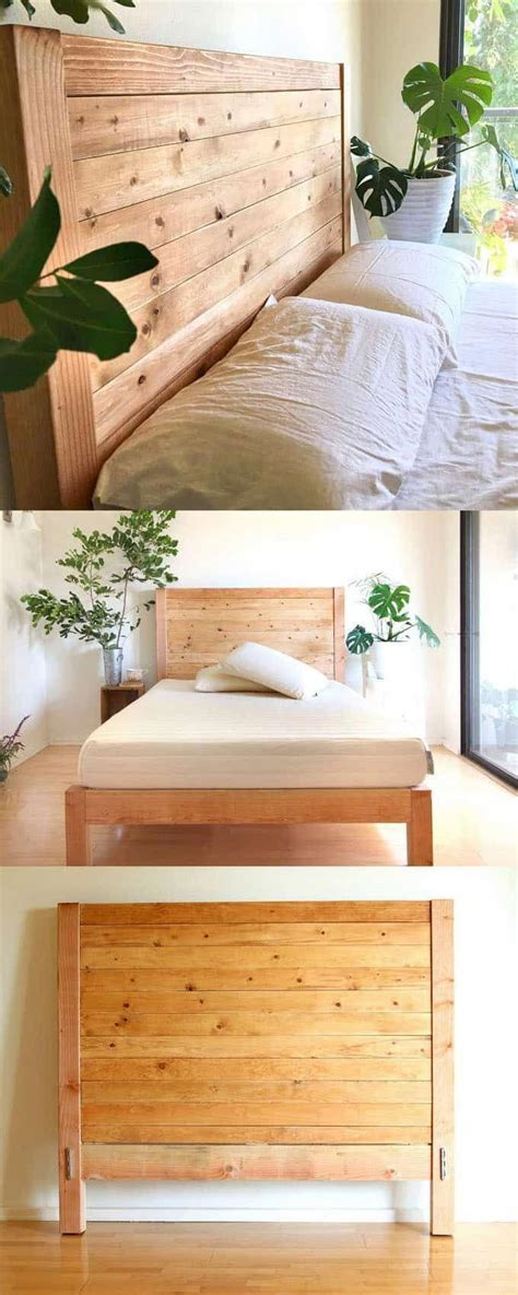 Diy Wood Headboards Queen Tutorials By A Rainbow