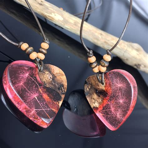 Diy Wood Heart Necklace