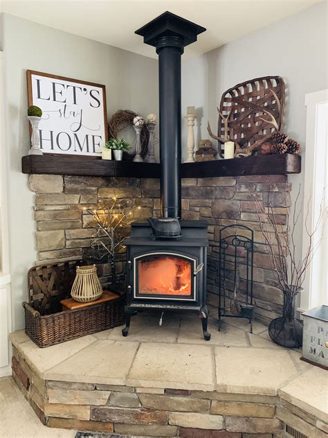 Diy Wood Heater Inside Fireplace