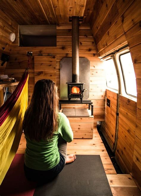 Diy Wood Heater Inside Van