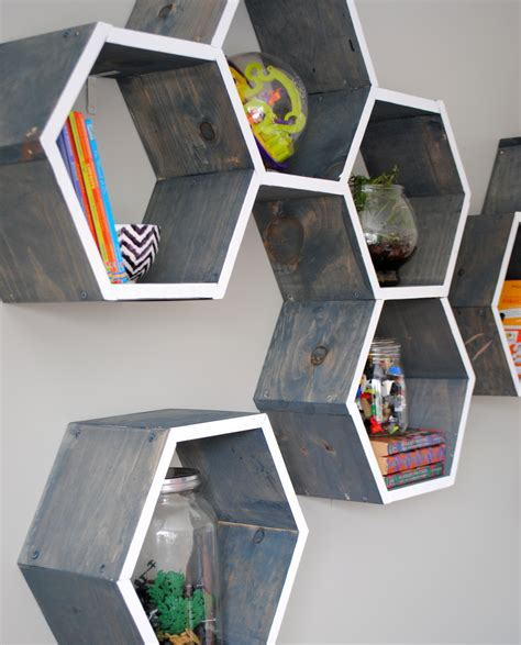 Diy Wood Honeycomb Shelves Target
