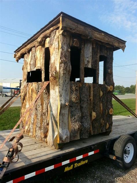 Diy Wood Hunting Blinds