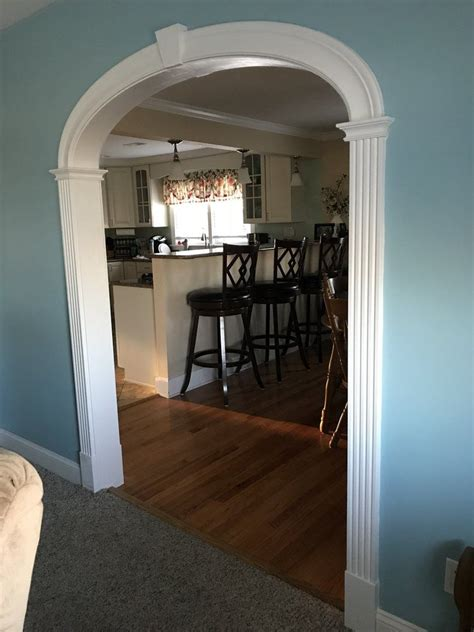 Diy Wood Interior Archway Trim