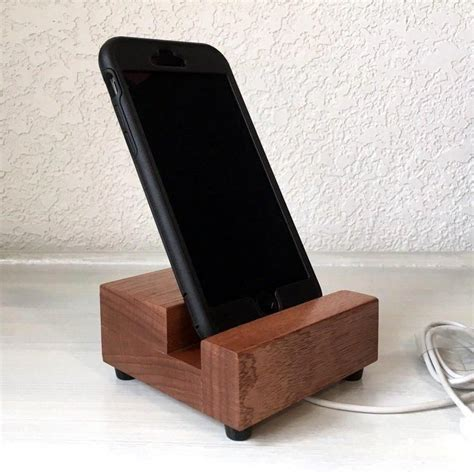 Diy Wood Iphone 6 Stand For Car