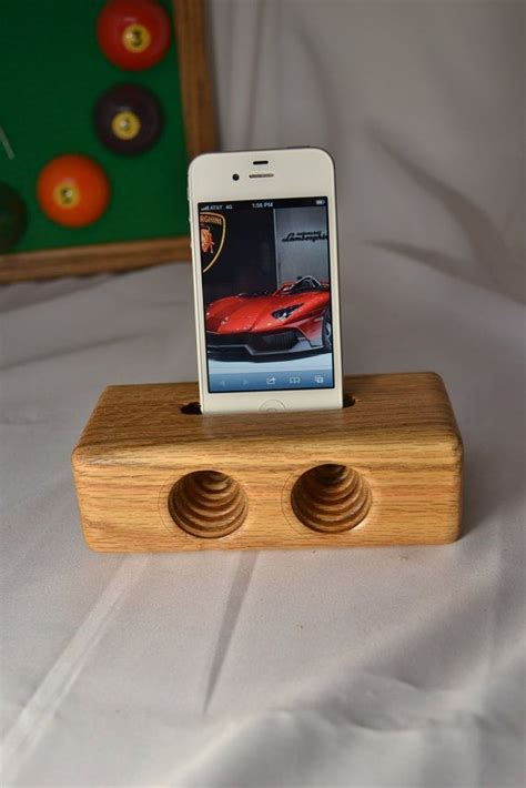 Diy Wood Iphone Amplifier Plans