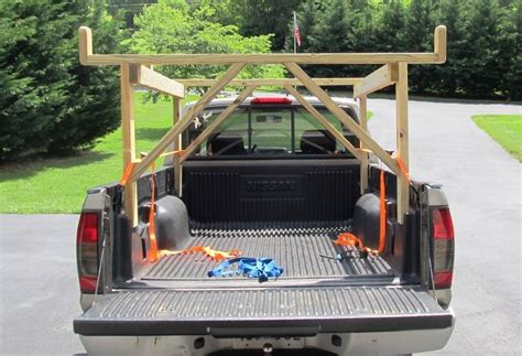 Diy Wood Kayak Rack For Truck