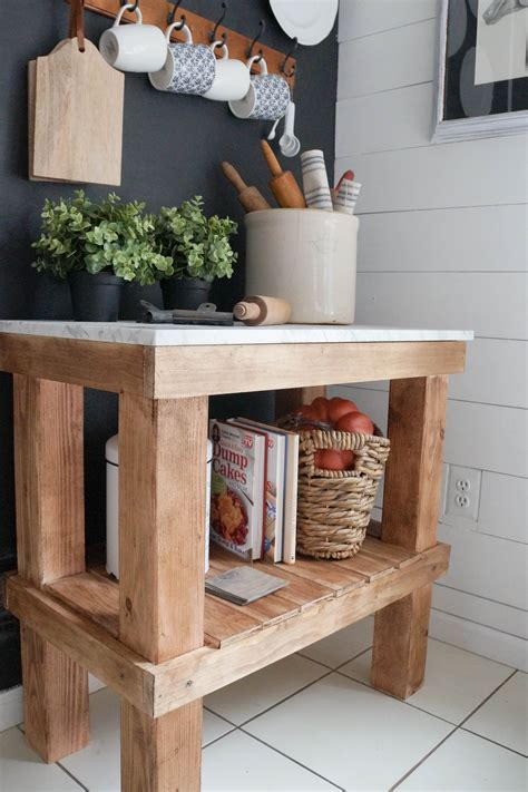 Diy Wood Kitchen Cart