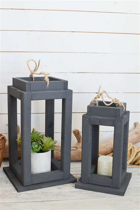 Diy Wood Lanterns Patterns