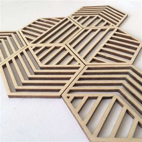 Diy Wood Laser Cut Coasters