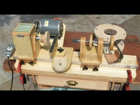 Diy Wood Lathe Instructions For 2018