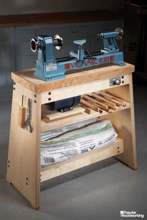 Diy Wood Lathe Table Height