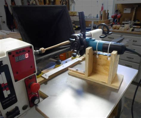 Diy Wood Lathe With Grinder