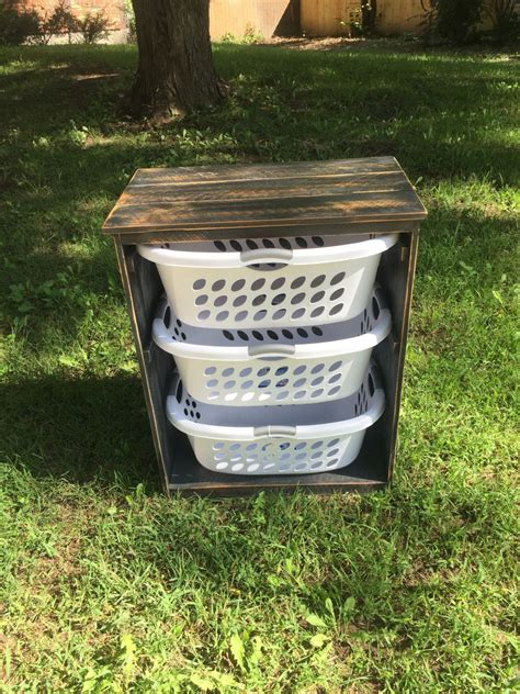Diy Wood Laundry Hamper Planswift