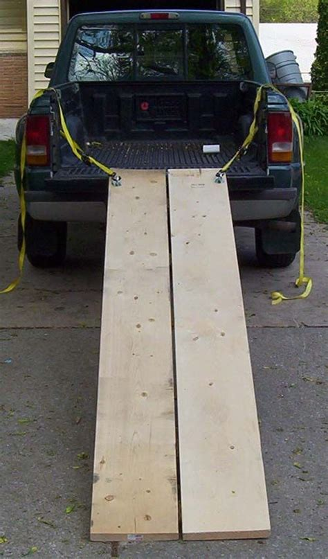 Diy Wood Loading Ramps