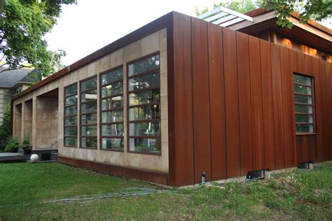 Diy Wood Look Metal Siding