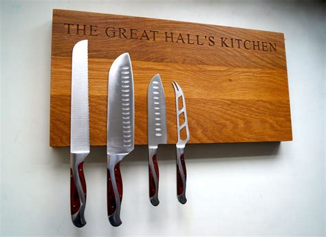 Diy Wood Magnetic Knife Rack