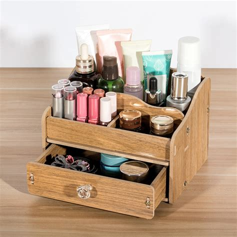 Diy Wood Makeup Box