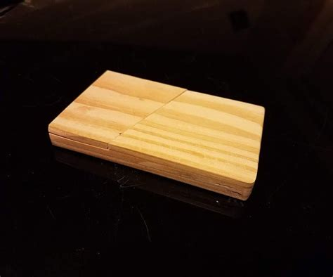 Diy Wood Minimalist Wallet