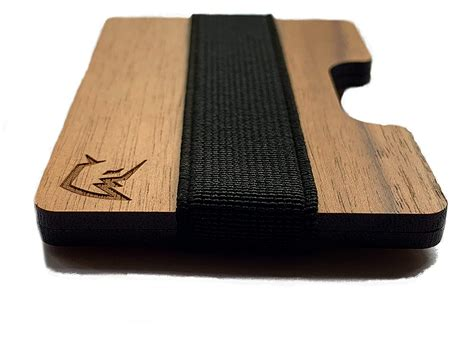 Diy Wood Minimalist Wallet With Money