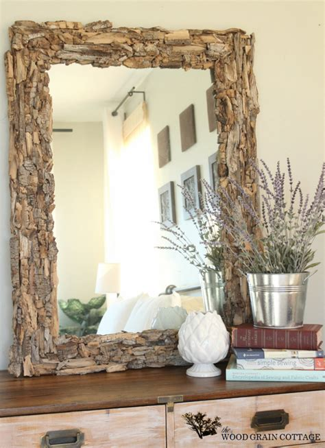 Diy Wood Mirror Decor