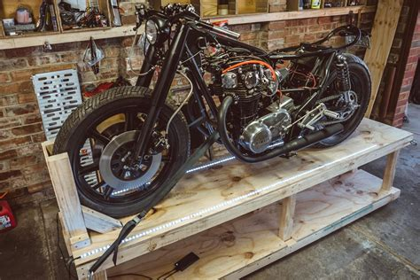 Diy Wood Motorcycle Stand