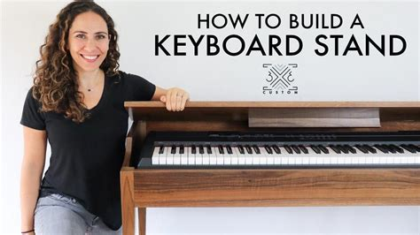 Diy Wood Music Keyboard Case