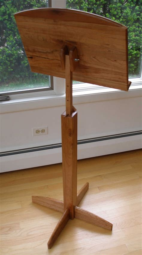 Diy Wood Music Stand