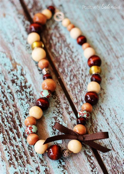 Diy Wood Necklace Ideas