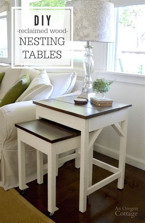 Diy Wood Nesting Tables