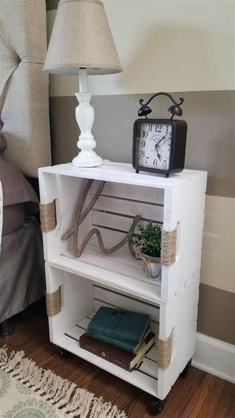 Diy Wood Nightstands