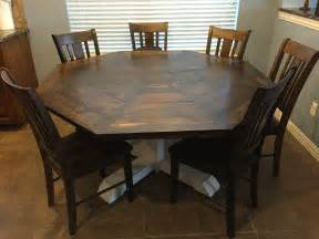 Diy Wood Octagon Dining Table