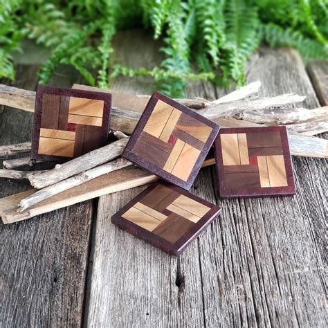 Diy Wood Or Plywood Coasters For Drinks