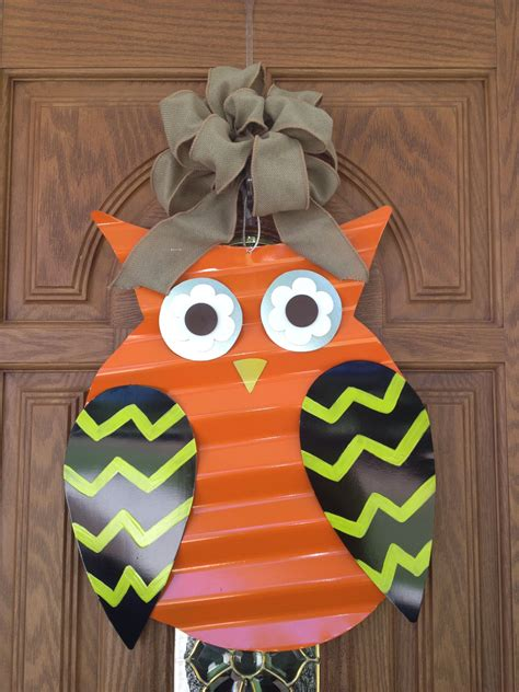 Diy Wood Owl Door Hangers