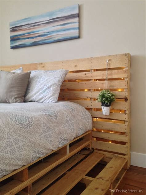 Diy Wood Pallet Bed Base
