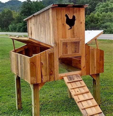Diy Wood Pallet Chicken Coop Plan