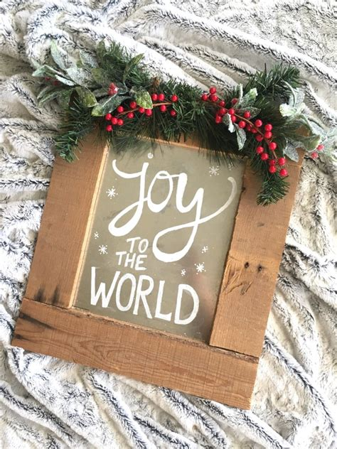 Diy Wood Pallet Christmas Signs For Yard
