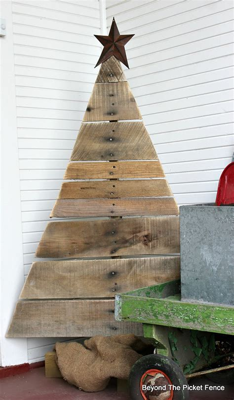 Diy Wood Pallet Christmas Tree Images