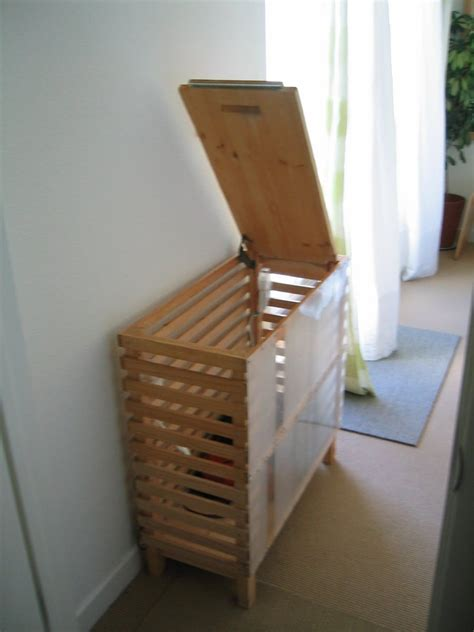 Diy Wood Pallet Close Hamper With Drawstring
