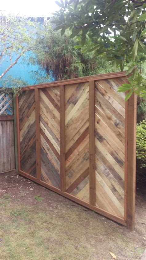 Diy Wood Pallet Fence